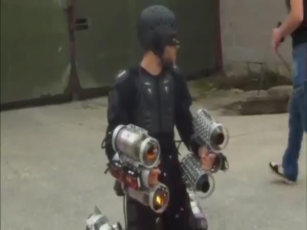 Reálný oblek z Iron Mana