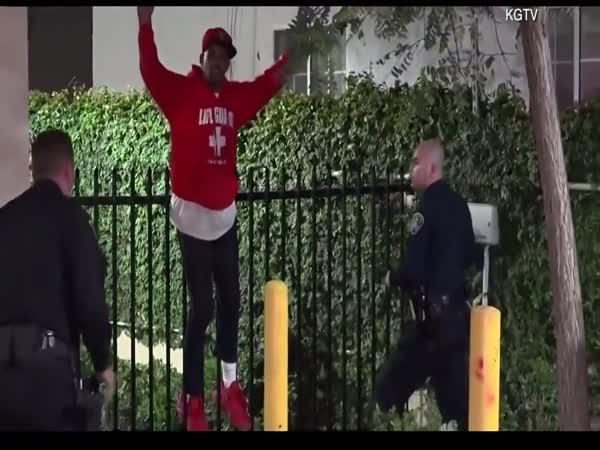 Nepovedený útěk policii