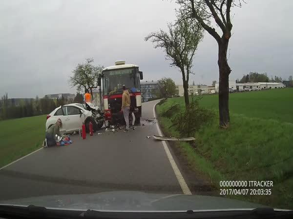 Česká republika – pomoc při nehodě