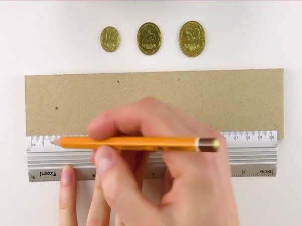 Jak si vyrobit třídičku na mince