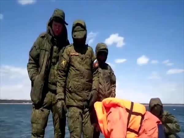 Záchrana 4 ruských robinsonů