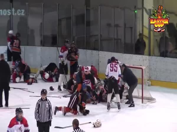 Hokejová rvačka