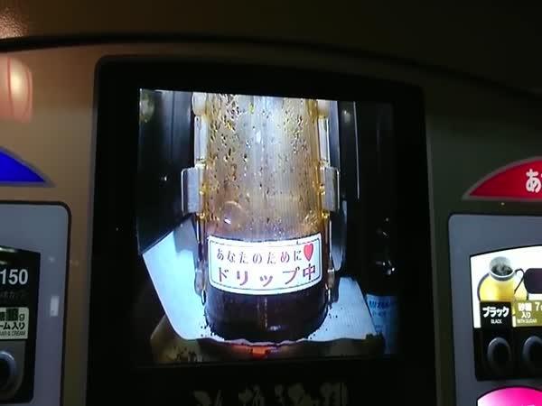 Káva z japonského automatu