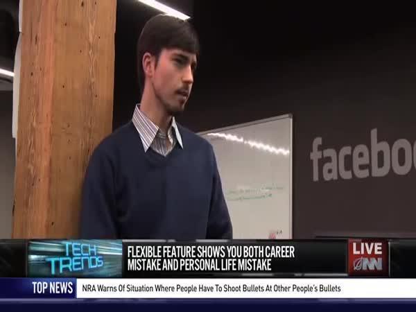 Nová funkce Facebooku