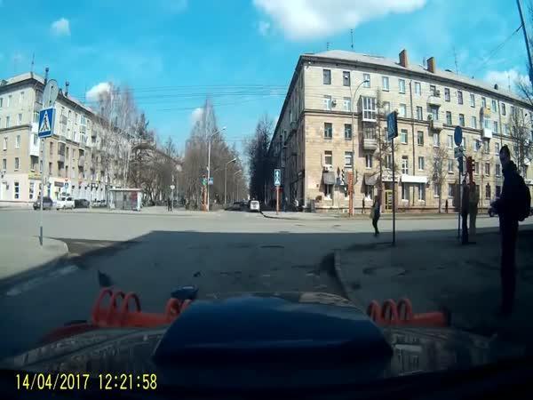 Rusko - Oprava semaforu