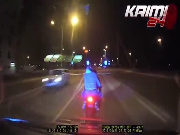 Estonská policie vs. motorkáři