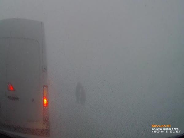 Slovensko - Hromadná nehoda na dálnici