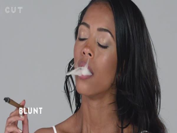 100 různých nástrojů na kouření