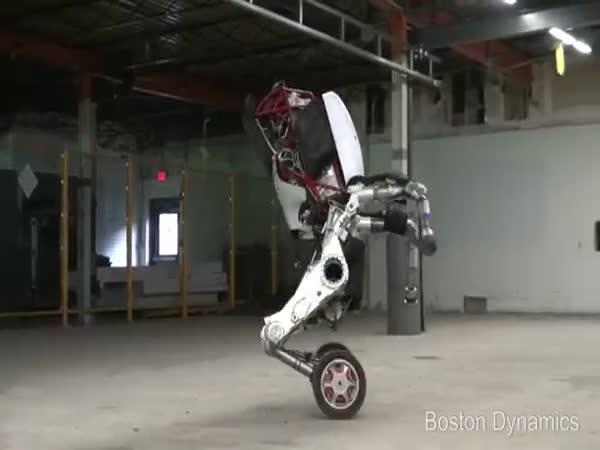 Testování inteligentního robota
