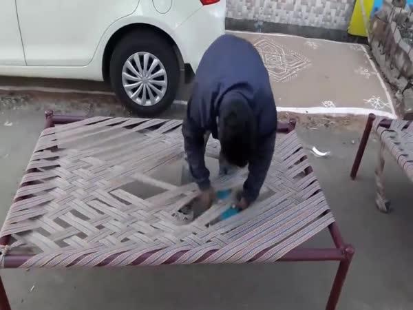 Jak uplést rošt postele