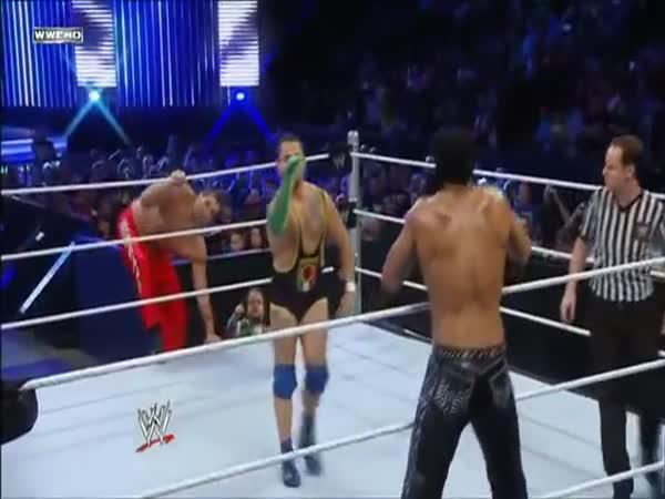 Wrestling - Komedie s hadem