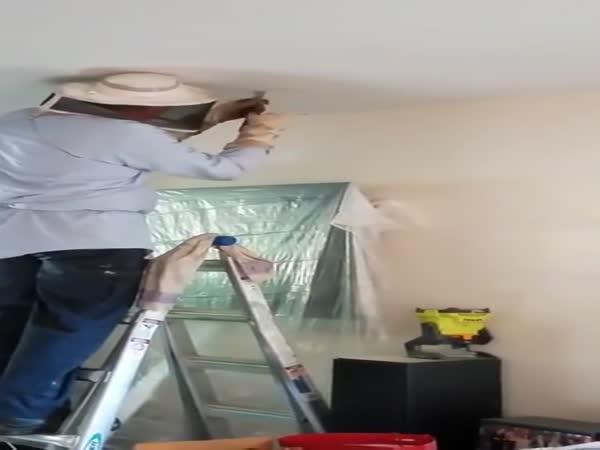 Překvapení ve stropě