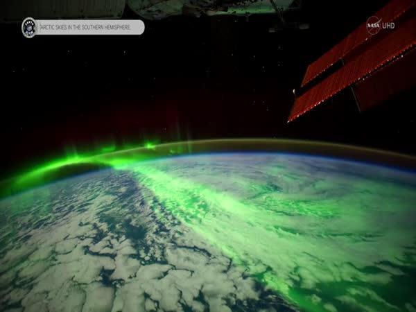 Timelapse - Záběry z ISS