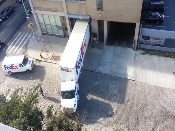 Parkování s kamionem