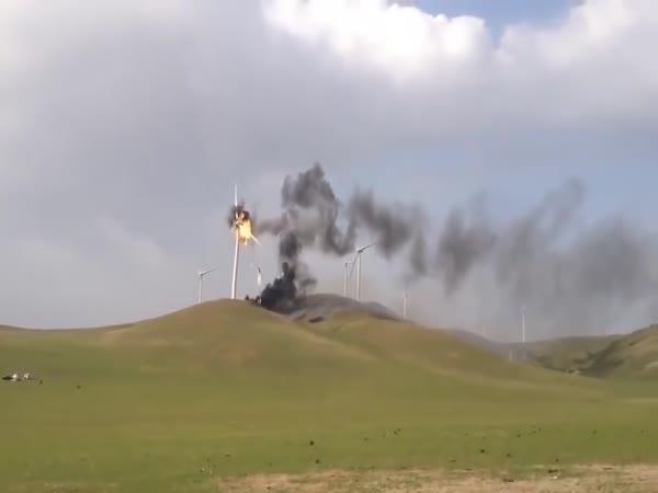 Když se porouchá větrná elektrárna
