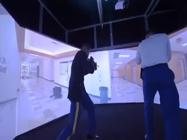 VirTra – Simulátor střelby