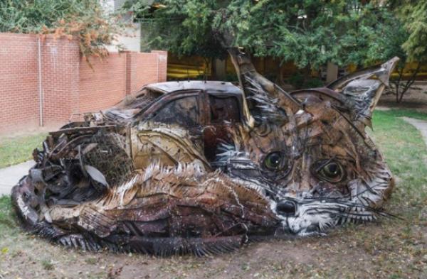 GALERIE - Zvířata z kovu