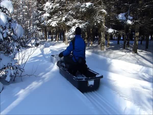Snowmobil – Parádní vozítko do hor