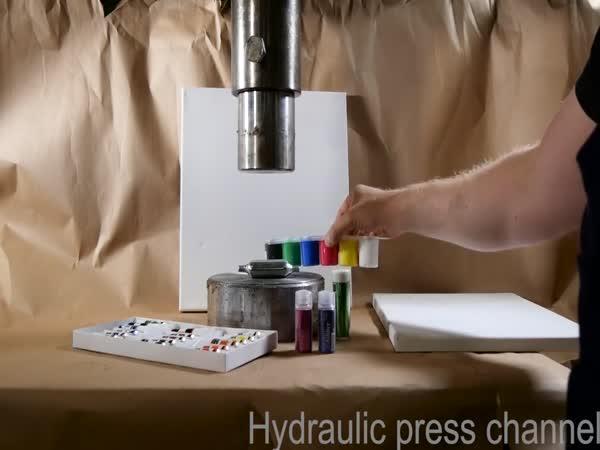 Hydraulický lis vs. umění