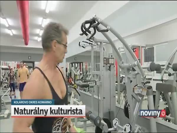 Slovenský 60letý kulturista