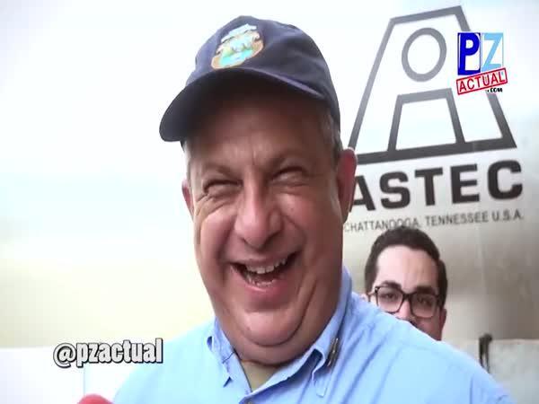 Rozhovor s prezidentem Kostariky