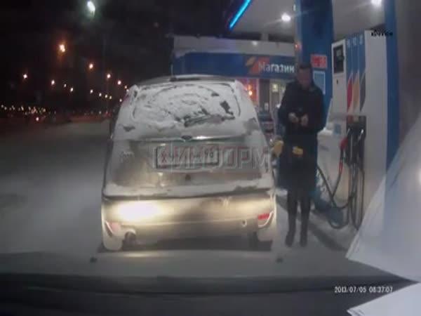 Chytré tankování benzínu