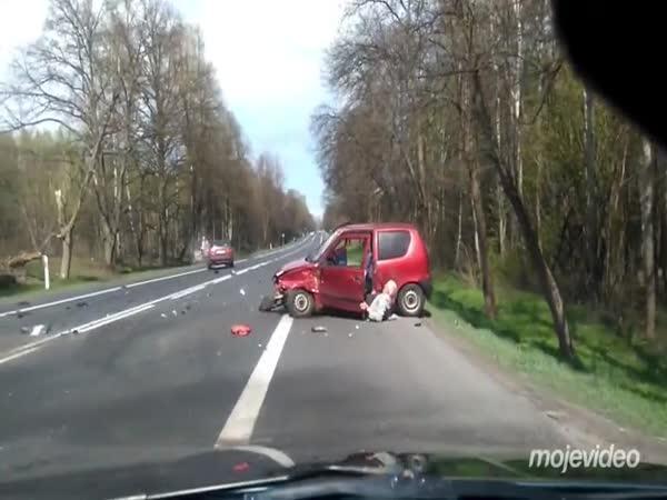 Polsko - Nehoda seniora