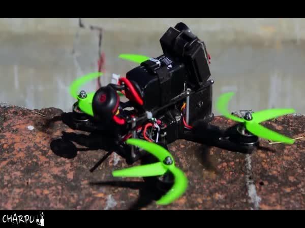 Když dron řídí profesionál