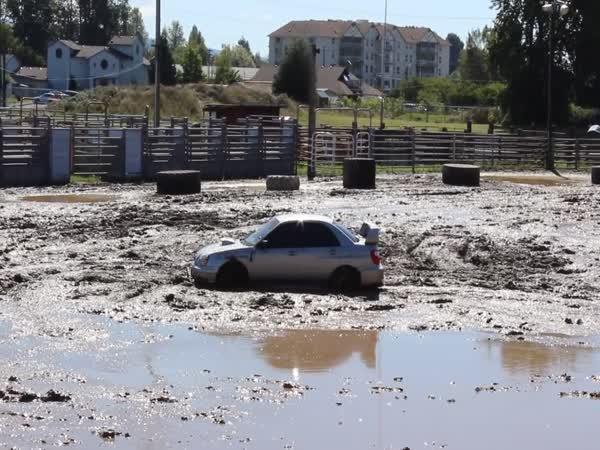 Subaru Impreza a boj s bahnem