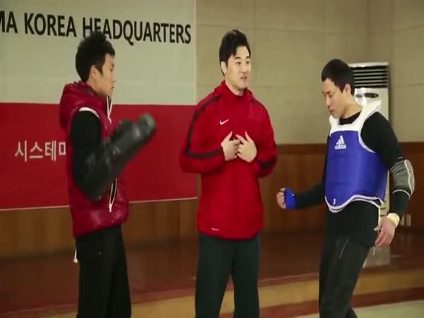 Velmi rychlý instruktor bojového umění