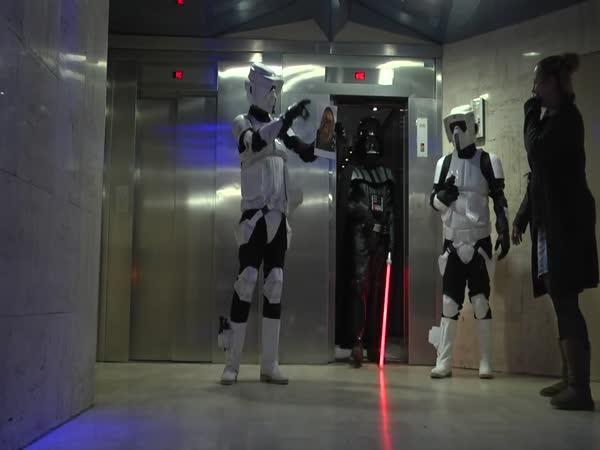 Star Wars skrytá kamera