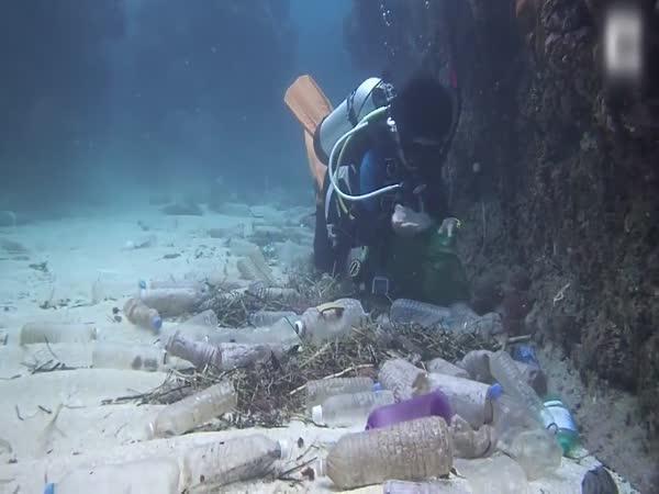 Plastové útesy v Thajsku