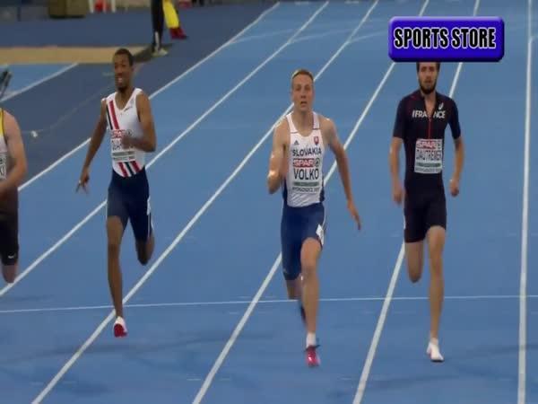 Ján Volko - Zlato v běhu na 200 metrů