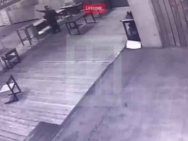 Rusko - Střelba na instruktora