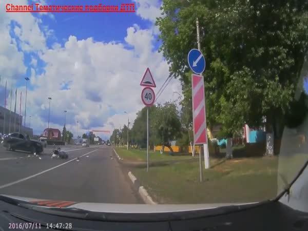 Rusko - Dopravní nehody #128