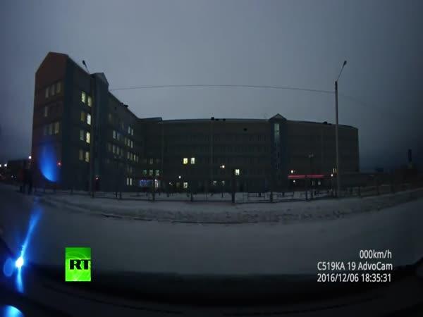Meteorit v Rusku