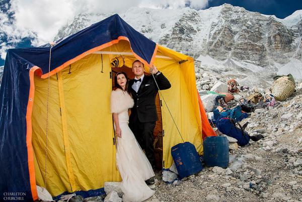 GALERIE - Svatba na Everestu