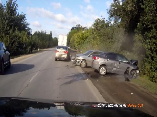 Rusko - Dopravní nehoda #533