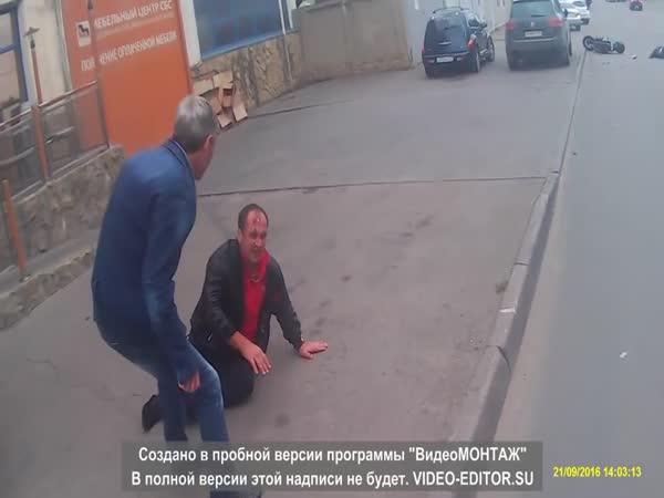 Rusko - Sražený chodec #19