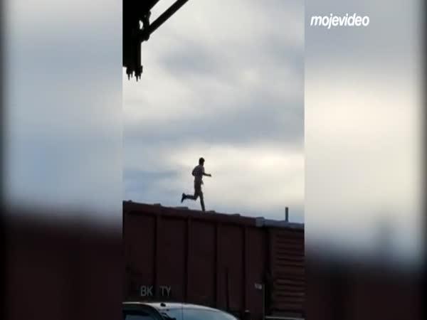 Když si jdeš zaběhat po vagónech