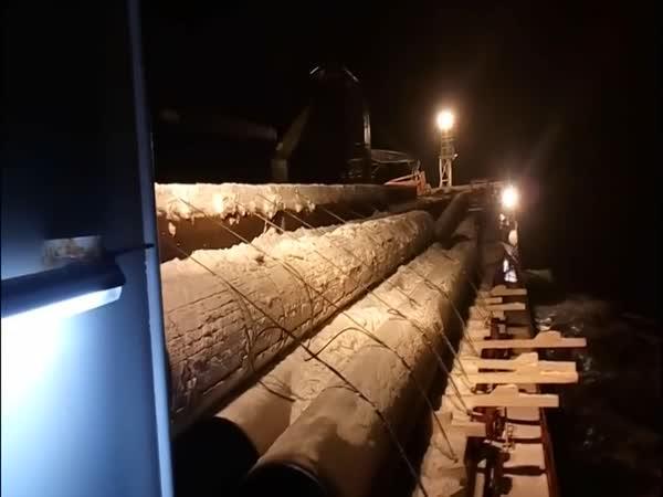 Rusko – Nehoda na nákladní lodi