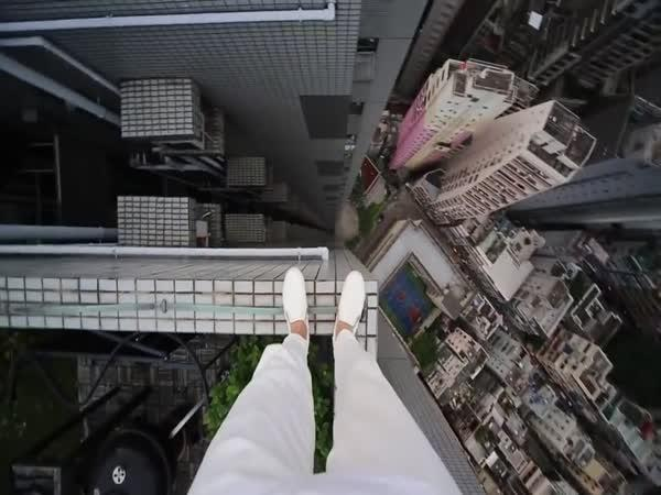 Extrémní parkour v Hongkongu