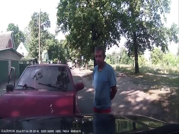 Rusko - Dopravní nehoda #526