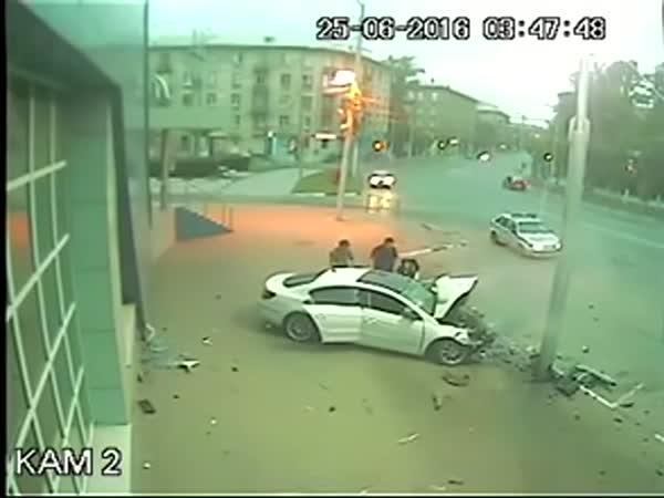 Rusko - Dopravní nehoda #519