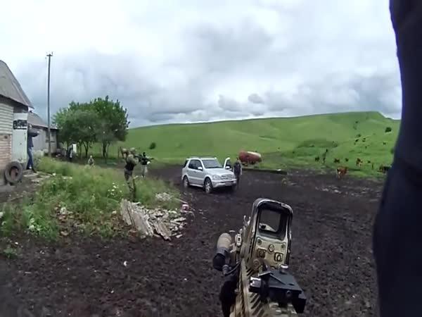 Zásah ruských speciálních jednotek