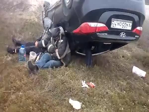 Rusko - Dopravní nehoda #516