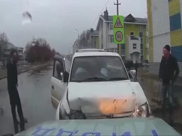 Rusko - Dopravní nehoda #514