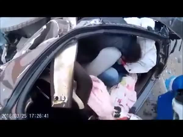 Po nehodě Lamborghini