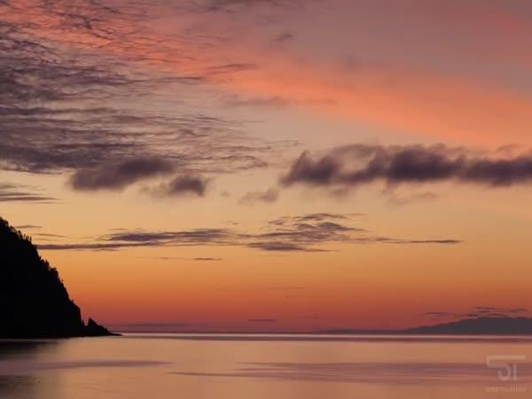 Timelapse – Bajkalské jazero