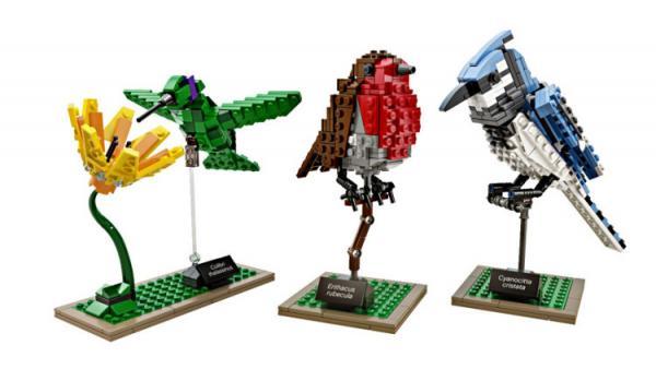 GALERIE - Postavte si lego ptáčka